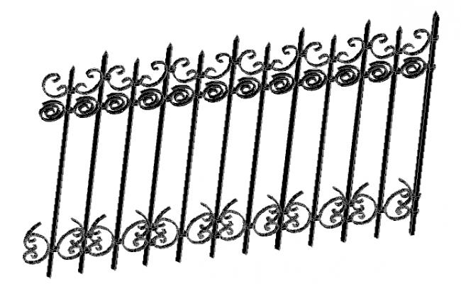 Relling design detail dwg file