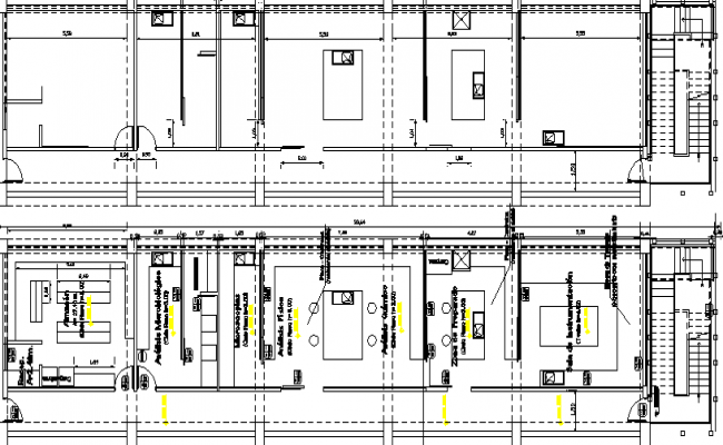 remodeling laboratory architecture plan and structure