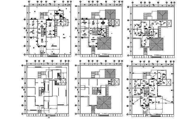 Residence Bungalow Design Architecture plan
