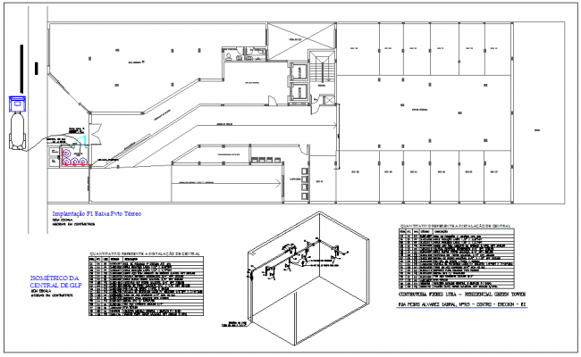 Resident plan of green tower
