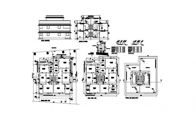 Residential Apartment Plan