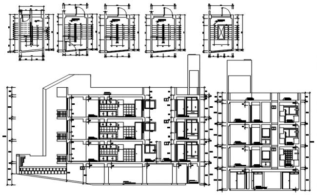 Residential Apartment design in autocad
