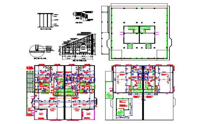 Residential House Plan detail