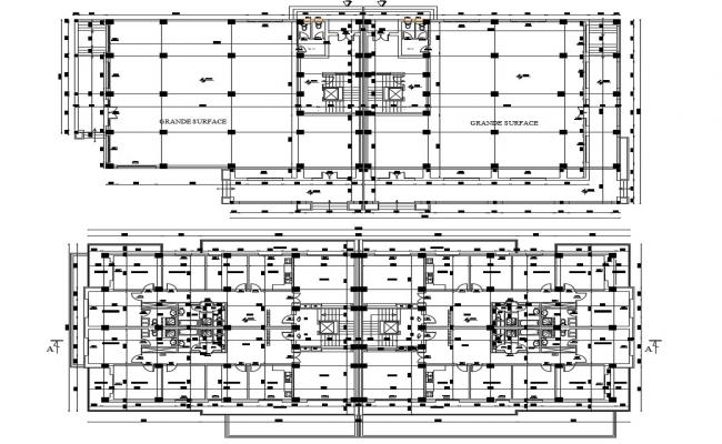 Residential Layout Plan DWG File