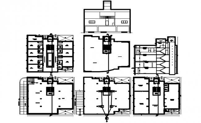 Download Free House Plan In DWG File