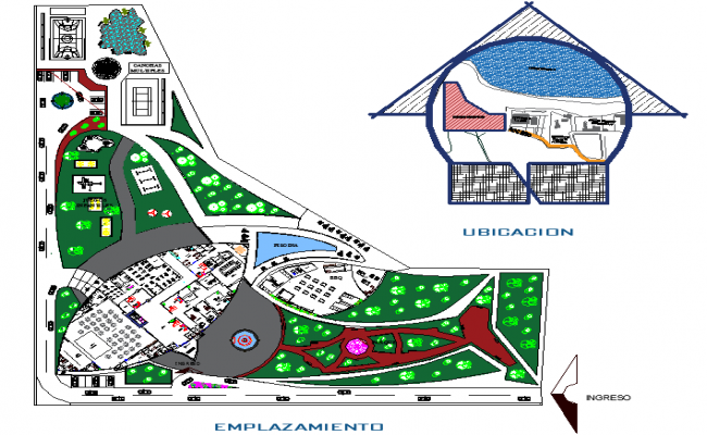 Resort Project with Landscaping Design