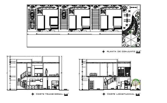Restaurant  elevation layout plan dwg file