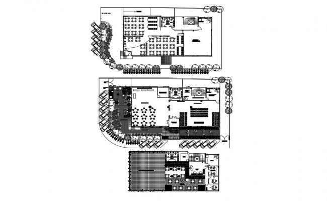 Restaurant Layout Plan