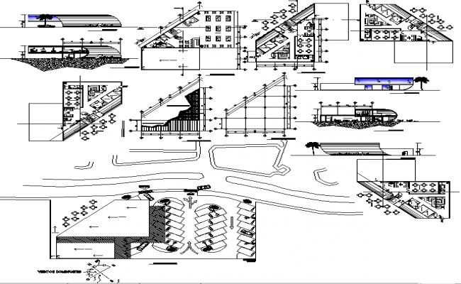 Restaurant project detail.