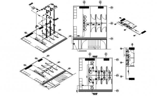 Restroom Design Plan