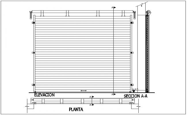 Roll Up Door Design View