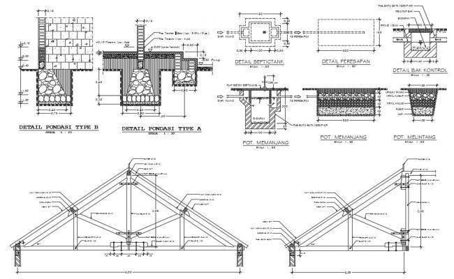 Roof Design CAD file Download