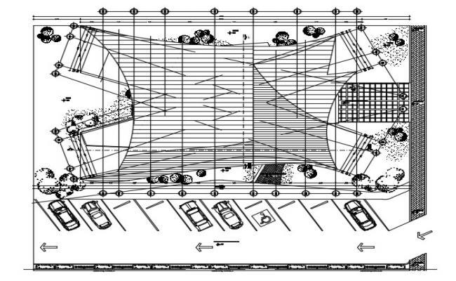 Roof Plan In DWG File