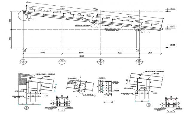 Roof Section Detail CAD File