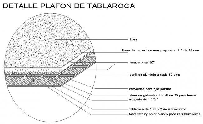 Roof Slab Design CAD File
