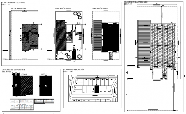 Roof and site plan layout file