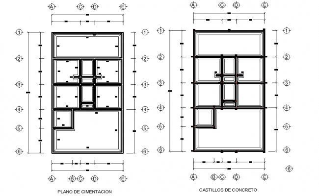 Roof plan detail autocad file