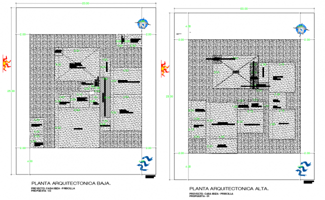 Roof plan layout file