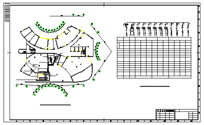 Room - electricity facilities design drawing
