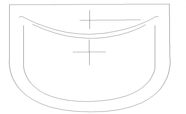 Round & Squire Type Wash Basin Block