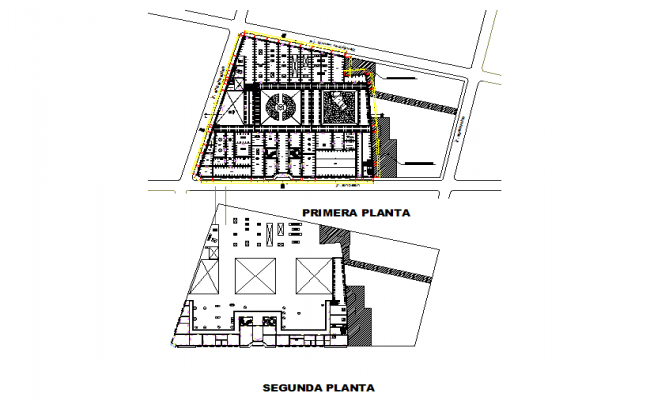 Royal school layout plan dwg file