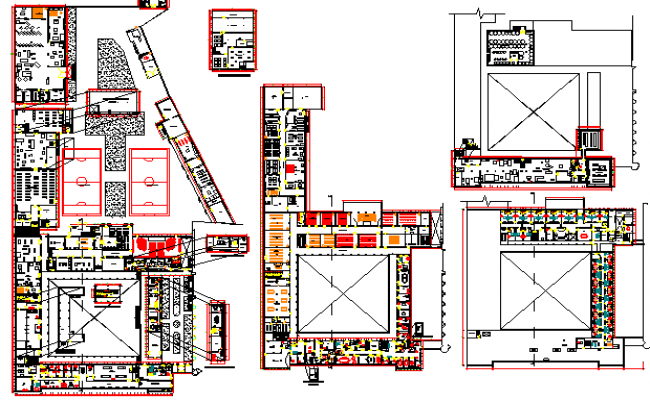 Sales and Distribution Corporate Office Architecture Layout dwg file