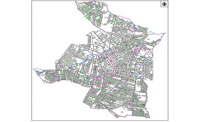 San Lorenzo Map DWG File