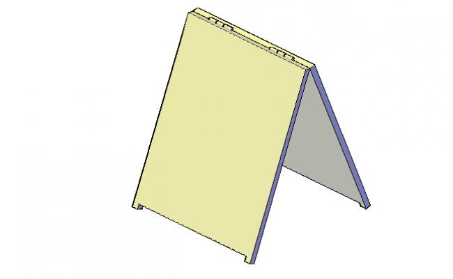 Sandwich cutter board front 3d elevation