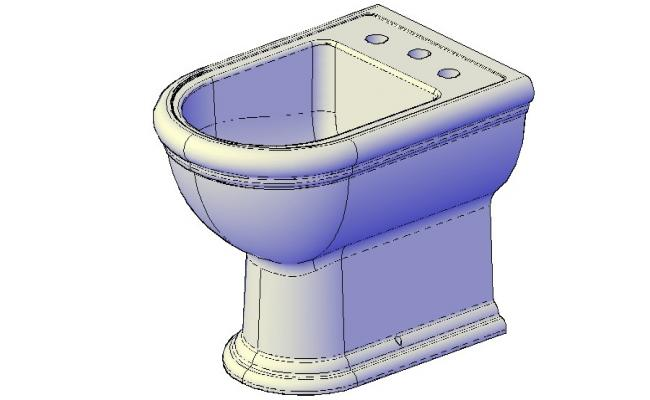 Sanitary Closet CAD block