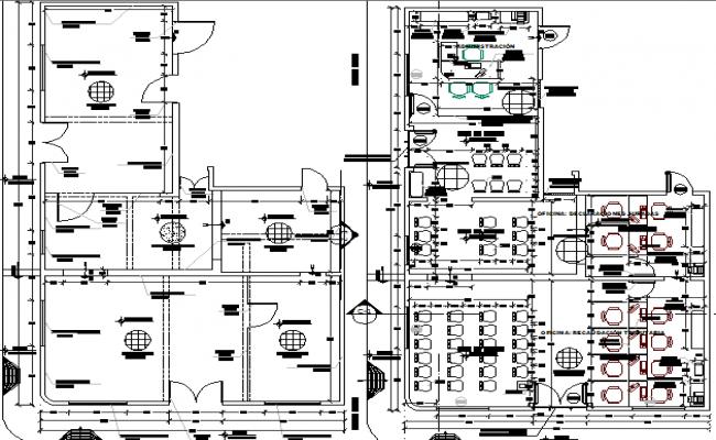 sat urbane center corporate office floor plan details dwg file. Black Bedroom Furniture Sets. Home Design Ideas