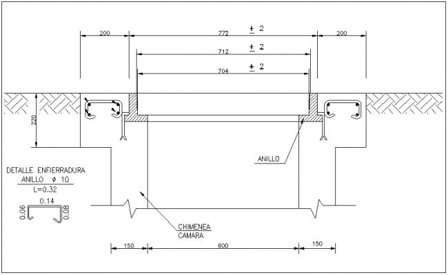 Satellite leveling instrument detail dwg file
