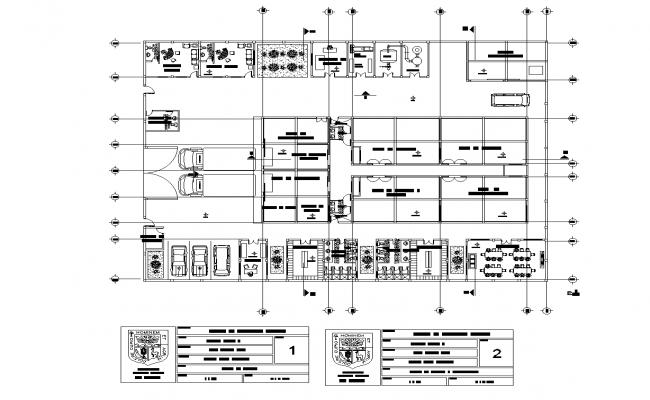 Sausage manufacturing factory design plan detail dwg file.