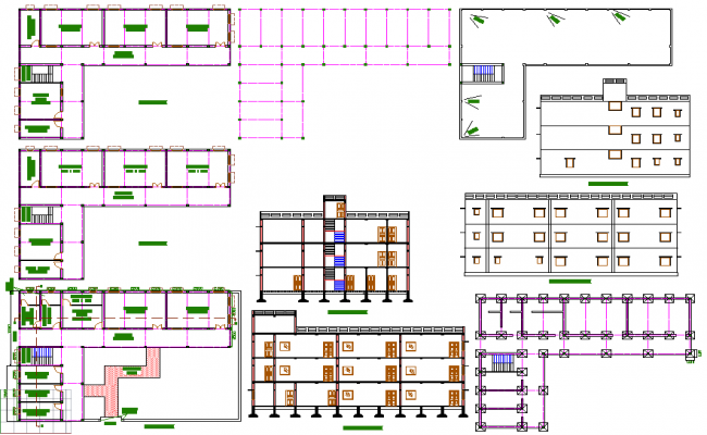 School building plan - College of design construction and planning ...