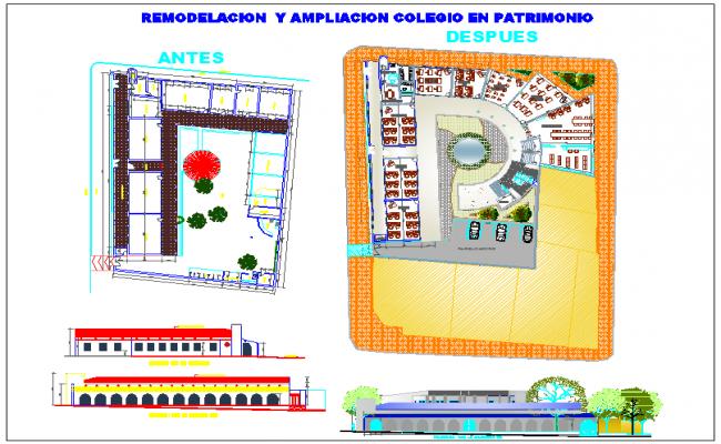 School Project design for modification