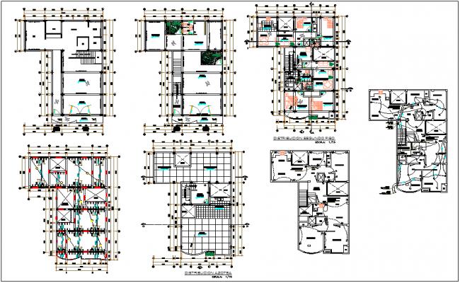 School building plan design view