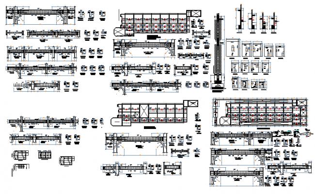 School building plan layout dwg file