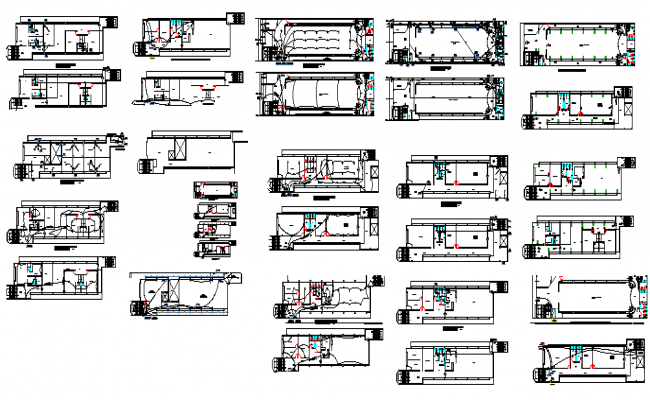 School building structure detailing design dwg file