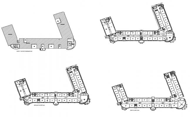 School drawing layout in autocad