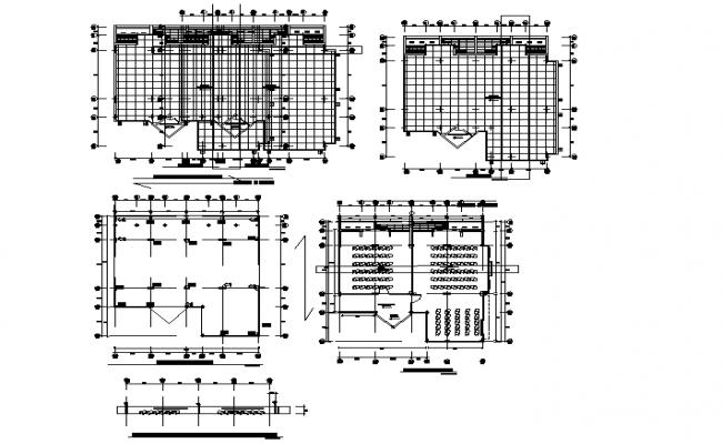 School plan working plan detail dwg file