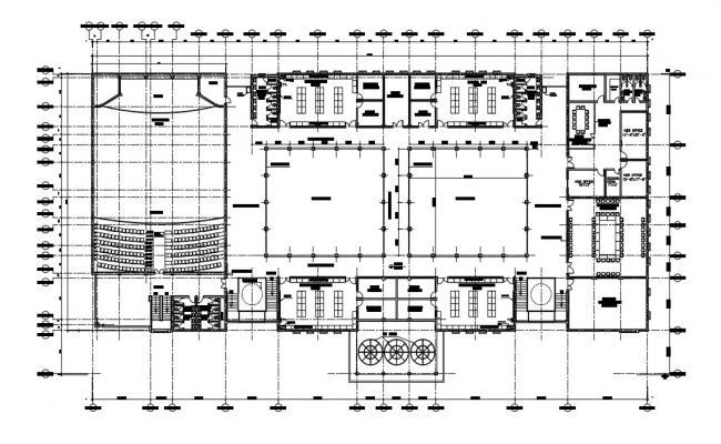 Science School Building Plan