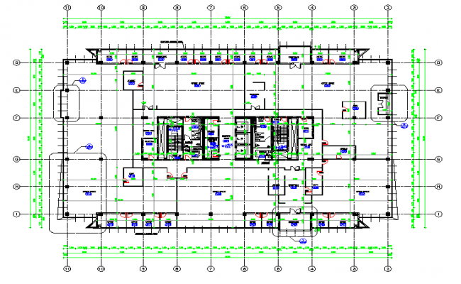 Second Floor Architectural plan Design