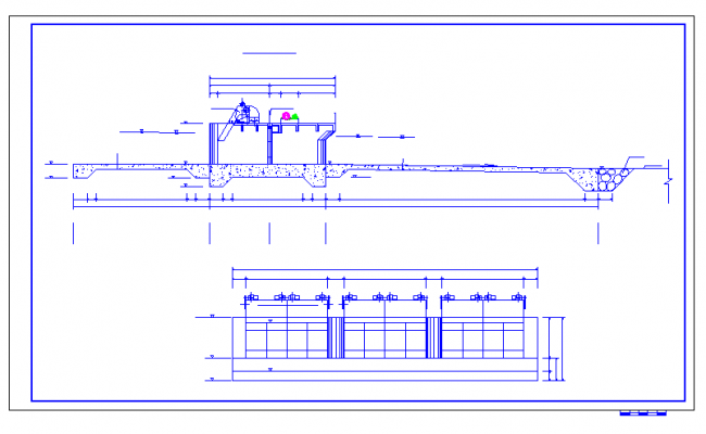Section Detail Type of pipe line planing