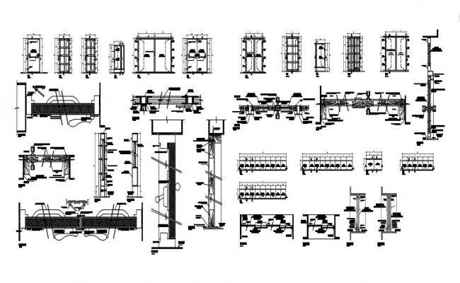 Section Panel In DWG File
