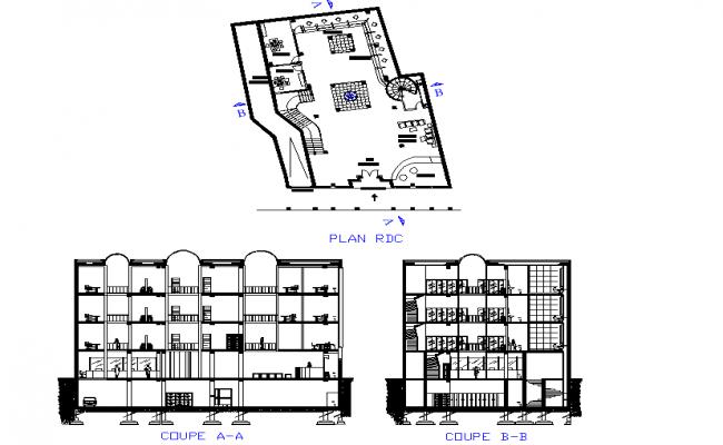 Section bank plan detail