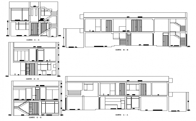 Section beach house layout file