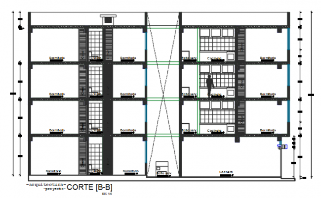 Section plan detail dwg file