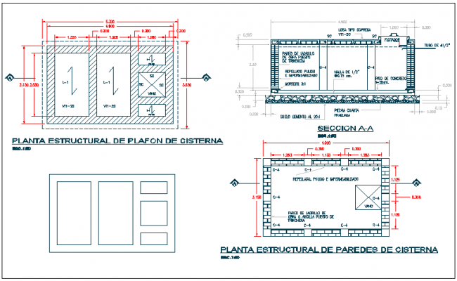 Section plan view of floor slab detail view dwg file