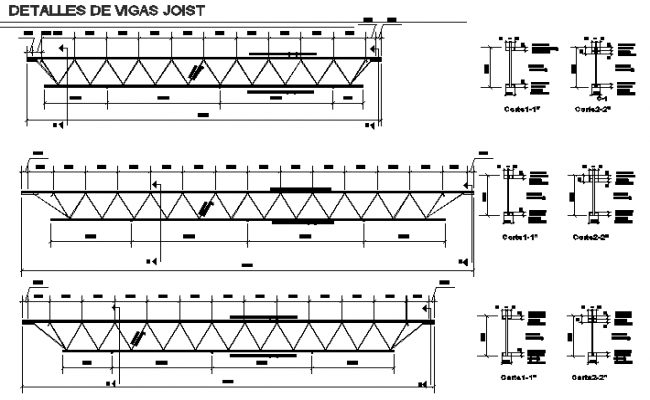 Section roof detail dwg file