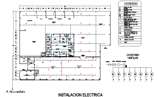 Sectional detailing dwg file