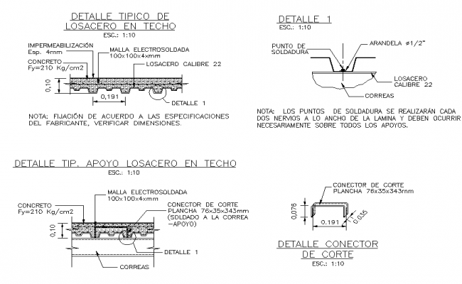 Sectional detailing file